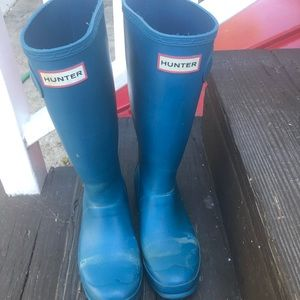 Hunter boots size 5/4 euro 36